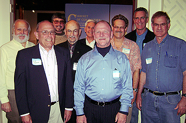 WFEA Alumni: Dana Lee Gordon, Jason B. Goode, Johnny Tripp, Al Carp, Hap Hazard, Warren Bailey, Norm Thibeault, Mike Harrison, R.W. Churchill