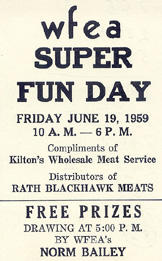 ad for WFEA Super Day