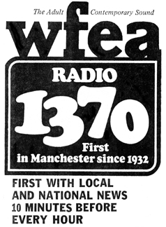 1973 WFEA newspaper ad