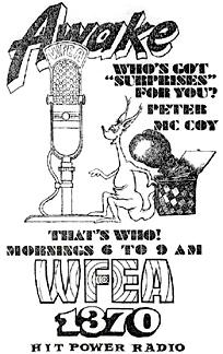 WFEA newspaper ad - May 24, 1971