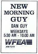 1987 WFEA ad for Dan Guy